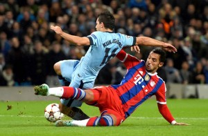BAYERN MUNICH MAN CITY