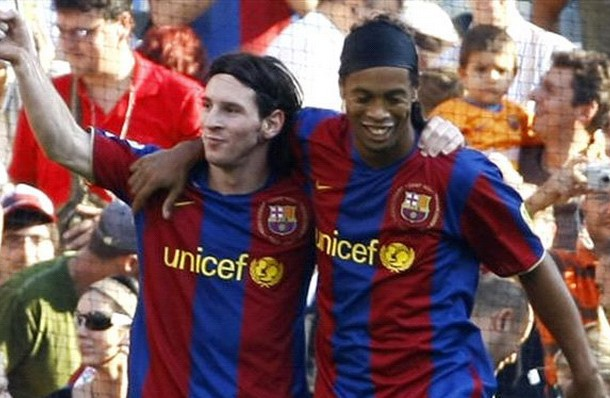 messi vs ronaldinho
