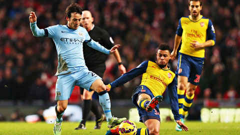 Arsenal, man city 1
