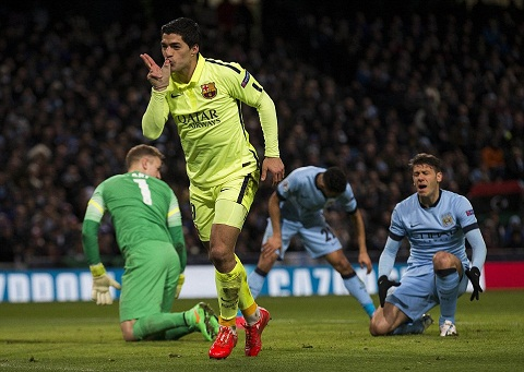 suarez barcelona vs man city