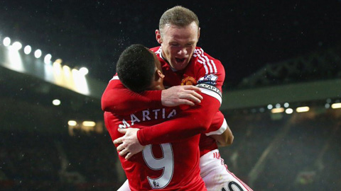 Martial vs Rooney