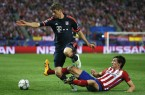 Thomas Mueller bayern munich vs atletico madrid