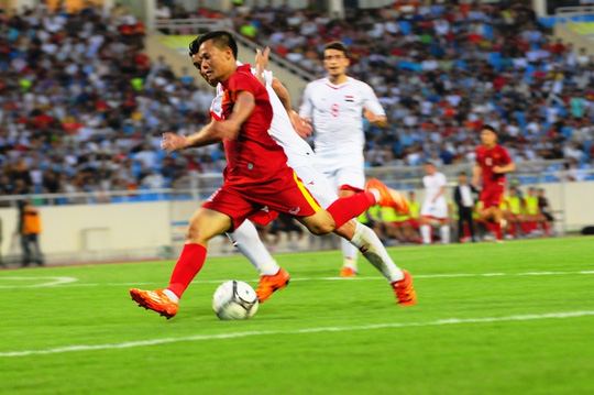thanh luong VN vs Syria