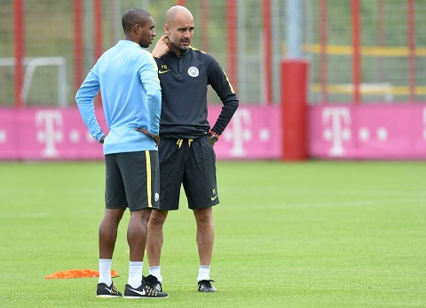 Manchester's new Spanish headcoach Pep G
