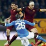 dzeko as roma vs napoli