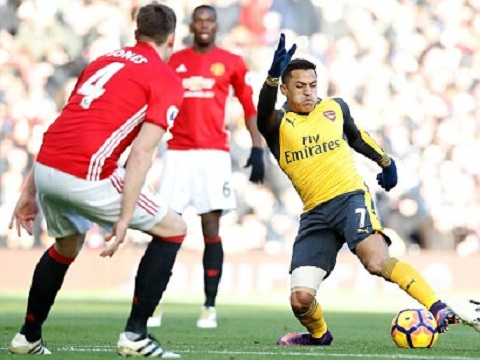MU Arsenal sanchez