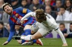 Messi modric real barca