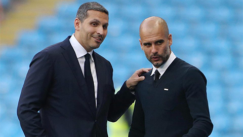mubarak chu tich Man city vs Pep Guardiola
