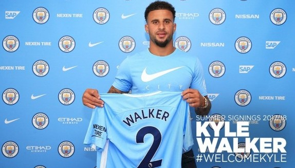 Kyle Walker man city