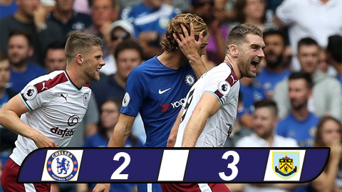 chelsea vs burnley 2017