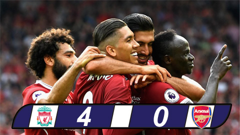 liverpool 4 0 arsenal