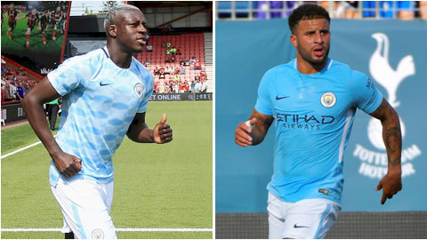 Benjamin Mendy vs Kyle Walker