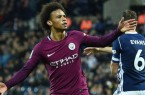 Sane man city vs west brom