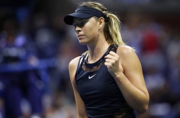 Sharapova 2017 my mo rong US Open