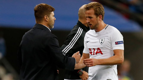 pochettino vs Harry Kane