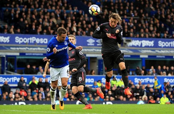 Oezil Ozil Arsenall vs Everton