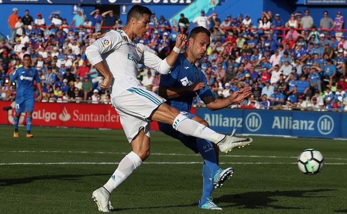 Ronaldo Real vs Getafe