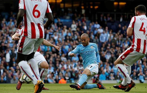 silva man city vs stoke city