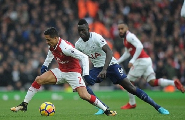 Arsenal vs Tottenham Sanchez