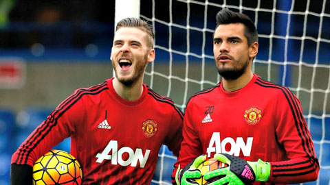 David de Gea vs Sergio Romero