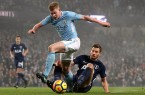 Kevin De Bruyne Man City vs Tottenham