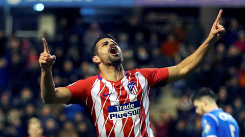 Diego Costa Atletico Madrid 2018