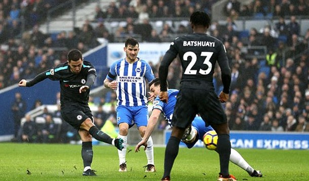 Hazard chelsea vs brighton