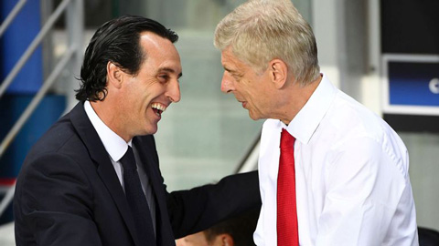 HLV Unai Emery vs Wenger