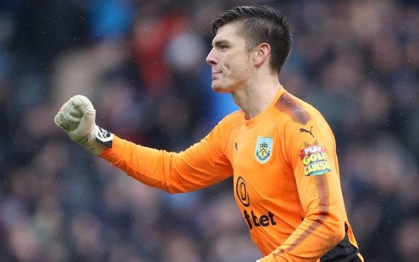 Nick Pope burnley tuyen anh