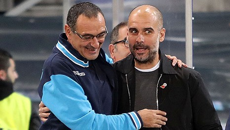 Guardiola vs Sarri