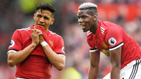 sanchez vs Paul Pogba
