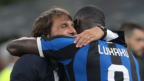 Lukaku vs conte inter milan